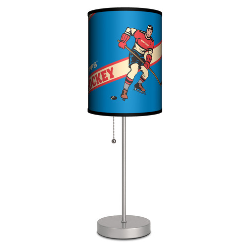 Lamp-In-A-Box Topps Hockey Heritage Box 1 20'' Table Lamp
