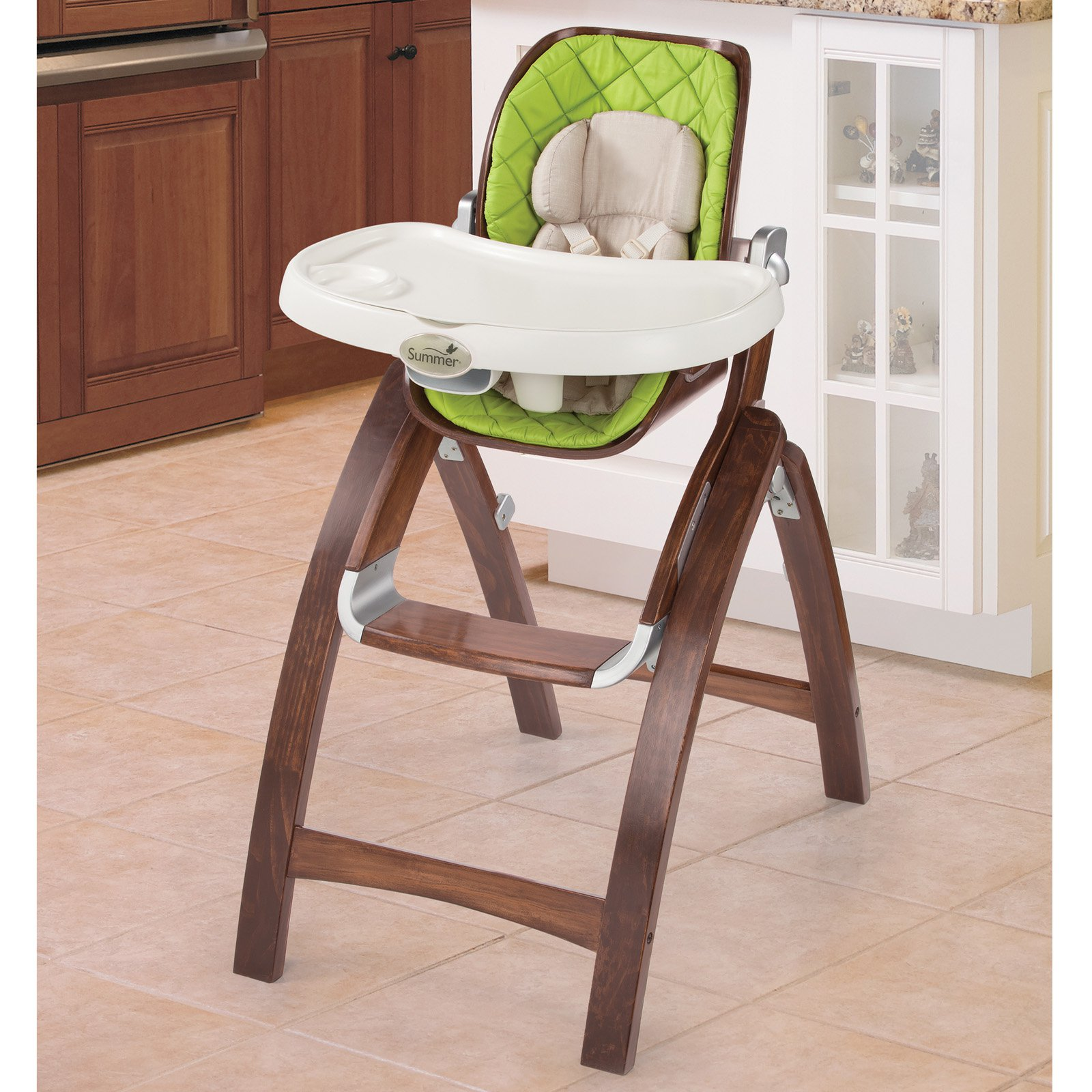 Superbe Summer Infant Bentwood High Chair