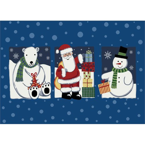 Milliken Winter Seasonal 'Tis the Season' Christmas Doormat