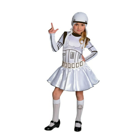 Star Wars Girls Storm Trooper - Girl Hallowenen Costume for $<!---->