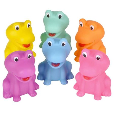 Rhode Island Novelty - Rubber Bath Toys - FROGS (Set of 6 Styles)