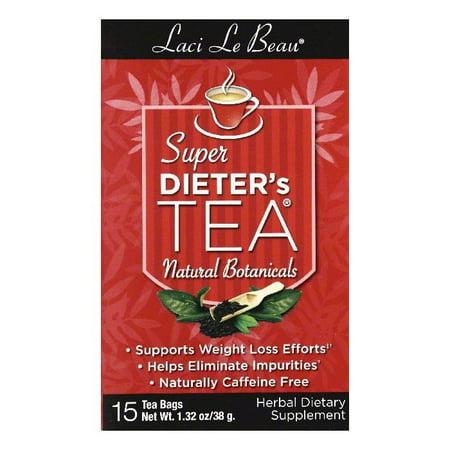Laci Le Beau Laci Super Dieter's Tea All Natural (All Natural Tea)