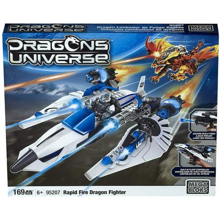 Mega Bloks Dragons Rapid Fire Dragon Fighter (Mega Blocks Dragons)