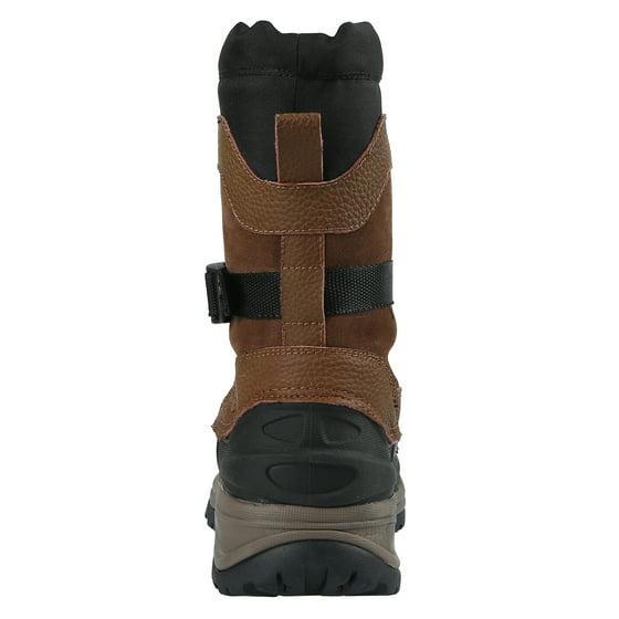 f2901aa5f2b31 Northside - Northside Mens Bozeman 400 Gram Waterproof Insulated Leather Winter  Snow Boot - Walmart.com
