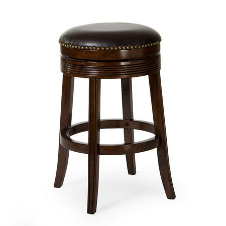 Swell Hillsdale Tillman Backless Swivel Counter Stool Espresso Beatyapartments Chair Design Images Beatyapartmentscom