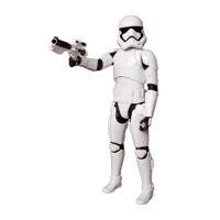 LAMINATED POSTER Storm Trooper Plastic Toys Figures Star Wars Poster Print 24 x 36
