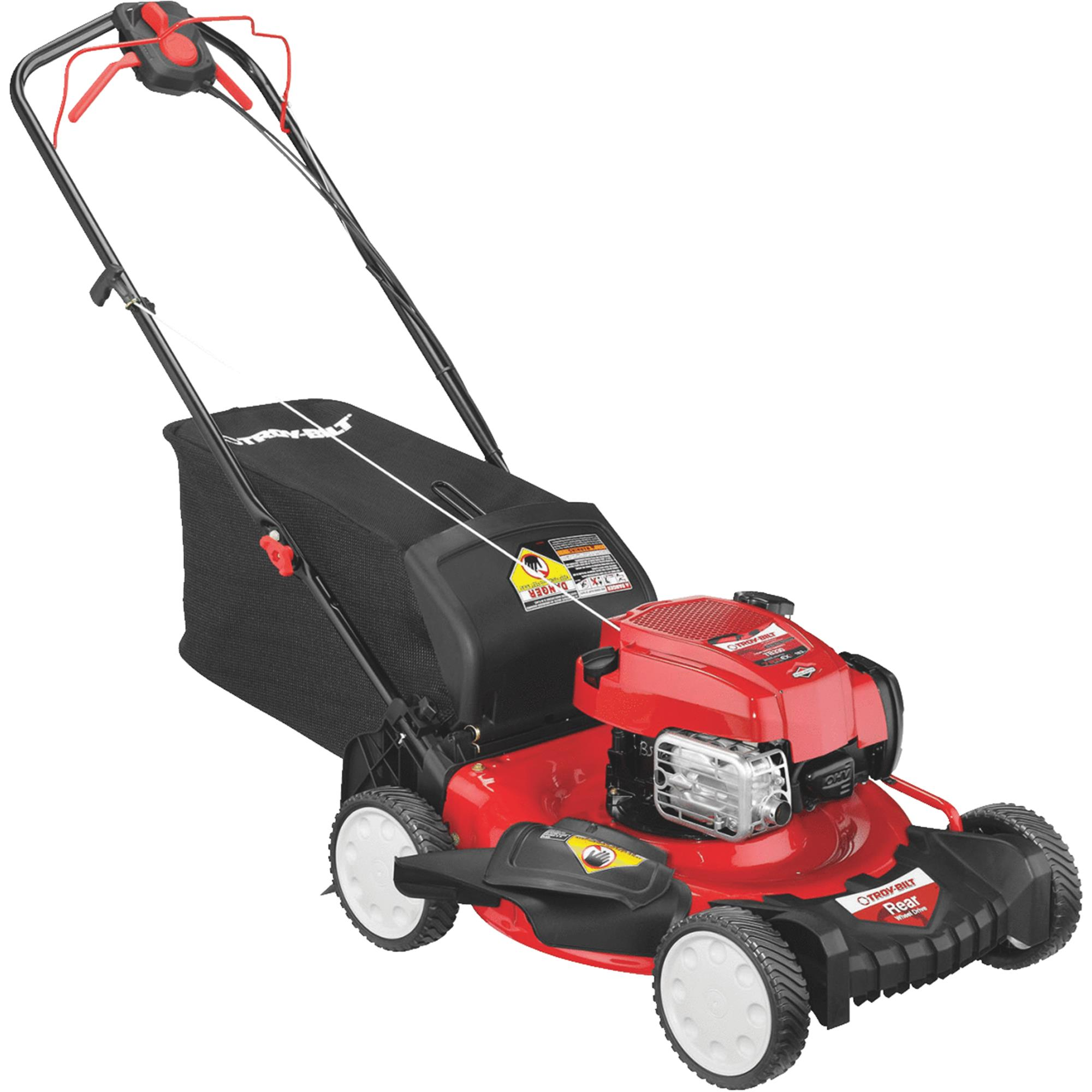 Troy-Bilt TB330 21 In. Rear Wheel Drive Self-Propelled Gas Lawn Mower by MTD PRODUCTS, INC