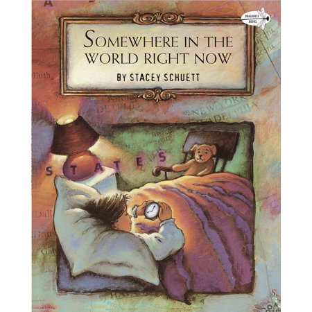 Somewhere in the World Right Now (Paperback) (Food Places Open Right Now For Delivery)