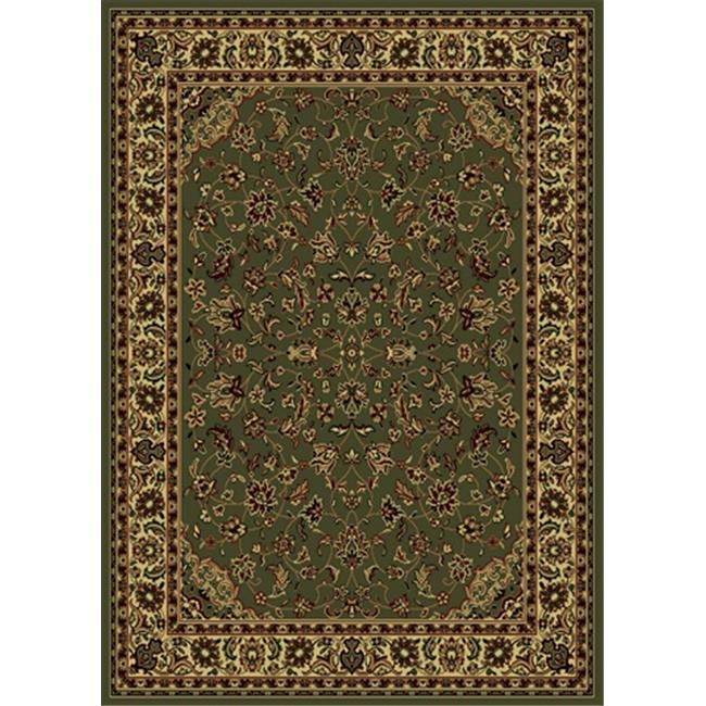 Radici 953-1217-SAGE Castello Rectangular Sage Green Traditional Italy Area Rug, 5 ft. 3 in. W x 5 ft. 3 in. H - image 1 of 1