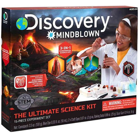 Discovery Kids STEM 15-piece Ultimate Science Experiment Kit