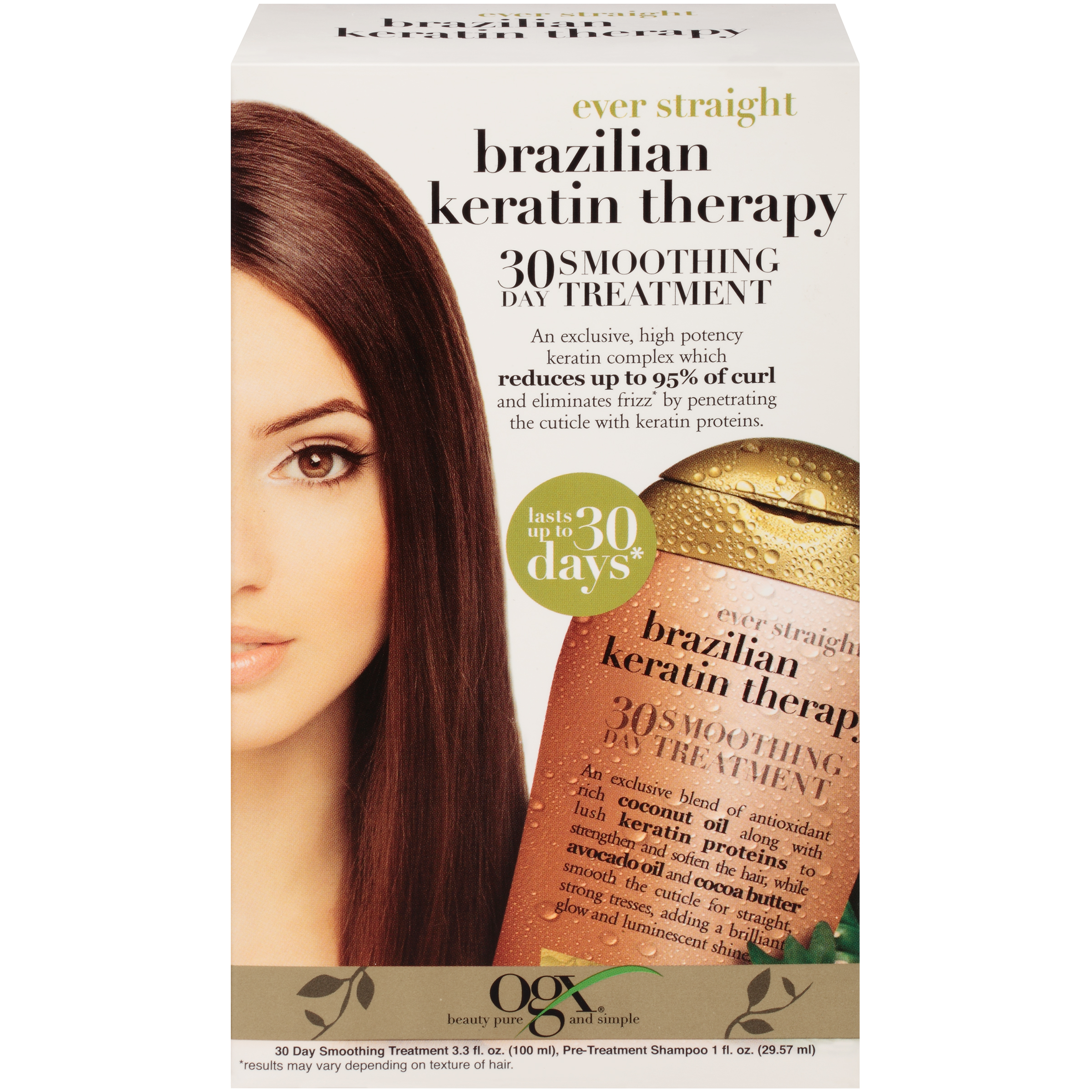 How much does keratin hair straightening Shampoo after keratin straightening