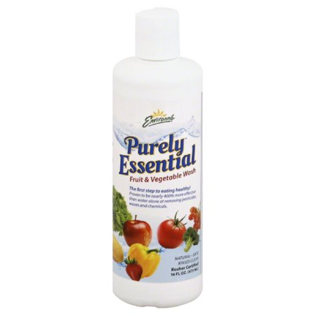 Consumer Health Research Purely Essential  Fruit & Vegetable Wash, 16