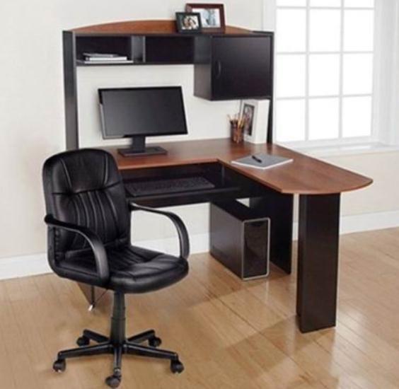 Gymax Home Office L Shaped Corner Computer Desk