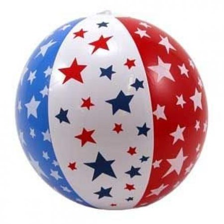 14-in Patriotic Beach Ball Inflate