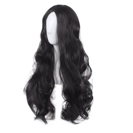 Long Curly Wavy Hair Wig Justice League Wonder Woman Diana Cosplay Party Costume - image 2 of 5