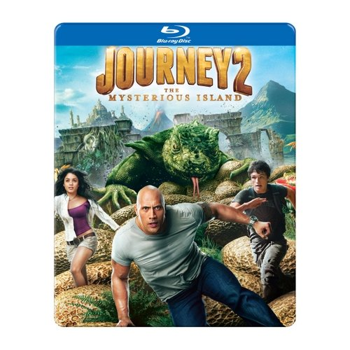 Journey 2: The Mysterious Island (Blu-ray) (Steelbook Packaging) (Widescreen)