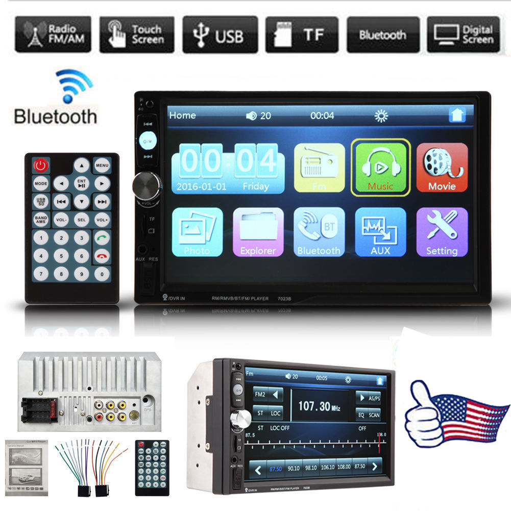 7 Inch Dual Din Car Stero with Bluetooth Car MP3 MP5 Player Car