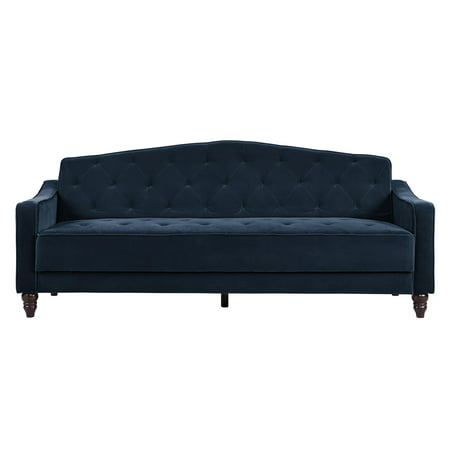Novogratz Vintage Tufted Sofa Sleeper II, Multiple (Brentwood Sleeper Sofa)