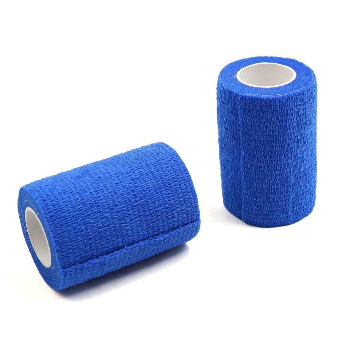2 Pcs Athletic Sports Cotton Tape Ankle Knee Wrist Self Adhesive Tape