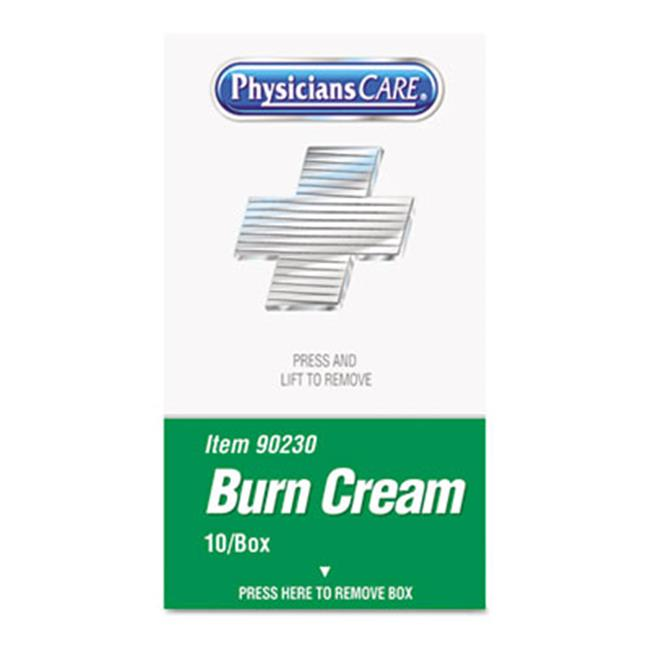 Physicianscare 90230 XPRESS First Aid Kit Refill  Burn Cream  10-box