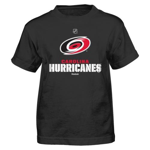 Carolina Hurricanes Reebok Preschool Clean Cut T-Shirt - Black