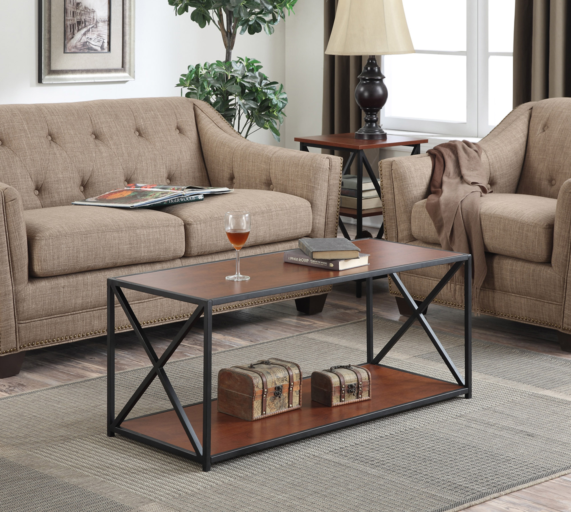 Gentil Convenience Concepts Tucson Coffee Table