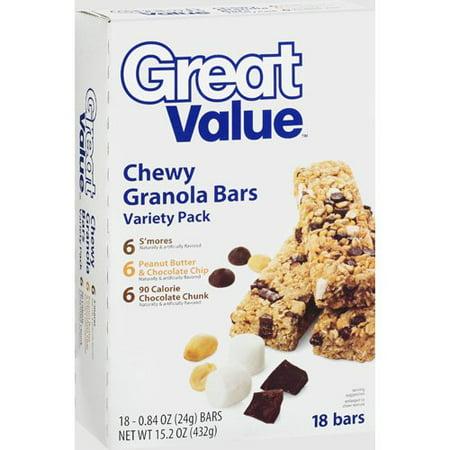 Great value chewy granola bars 152 oz walmart great value chewy granola bars 152 oz solutioingenieria Choice Image