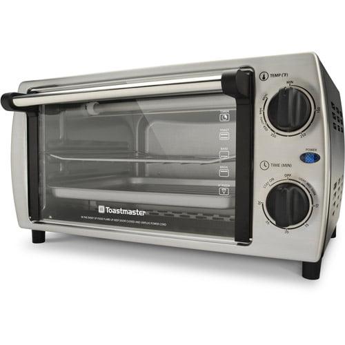 Toastmaster TM 103TR 4 Slice Toaster Oven Walmart