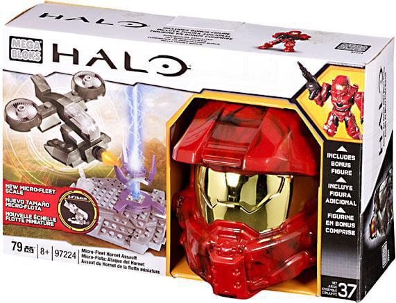 Halo Micro Fleet Hornet Assault Set Mega Bloks 97224 by Mattel