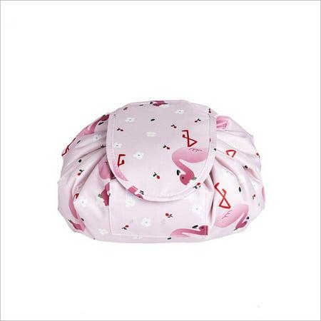 Toiletry Bag Lazy Makeup Bag Quick Pack Waterproof Travel Bag Drawstring Storage - image 3 de 5