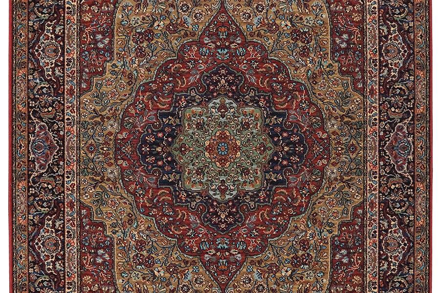 Karastan Original Medallion Kirman Rug by Mohawk Carpet Distribution LP