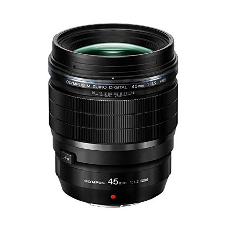 olympus m.zuiko digital ed 45mm f1.2 pro lens, for micro four thirds