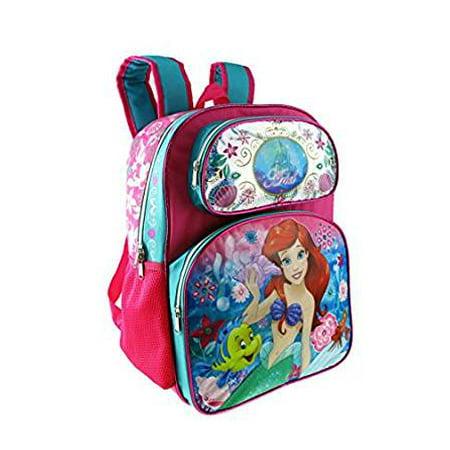 "Backpack - Disney - Princess Ariel Large 16"" New 001421 - image 1 de 2"