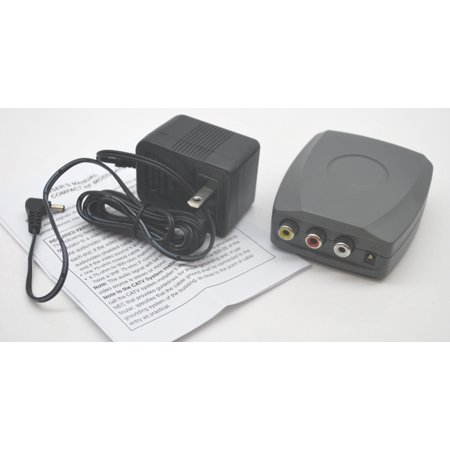 (NEW RCA COMPOSITE VIDEO/AUDIO RF MODULATOR TO CHANNEL 3 OR 4 DVD GAME CONSOLES)
