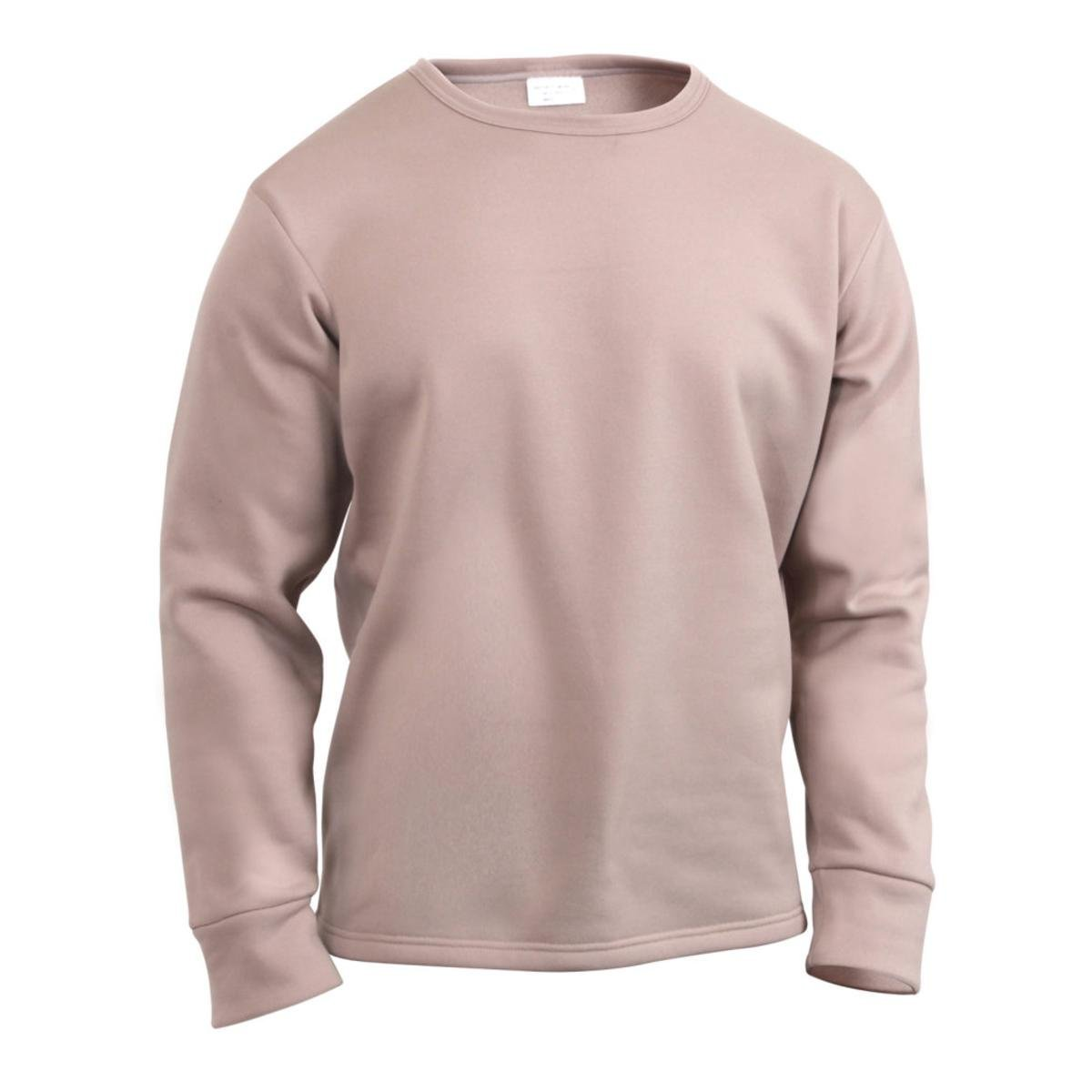 Rothco ECWCS Poly Crew Neck Top - Brown, 2X-Large - image 1 of 1