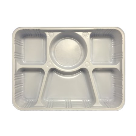 Quality Disposable Plastic Plates With 6 Compartments By Ekarro ...