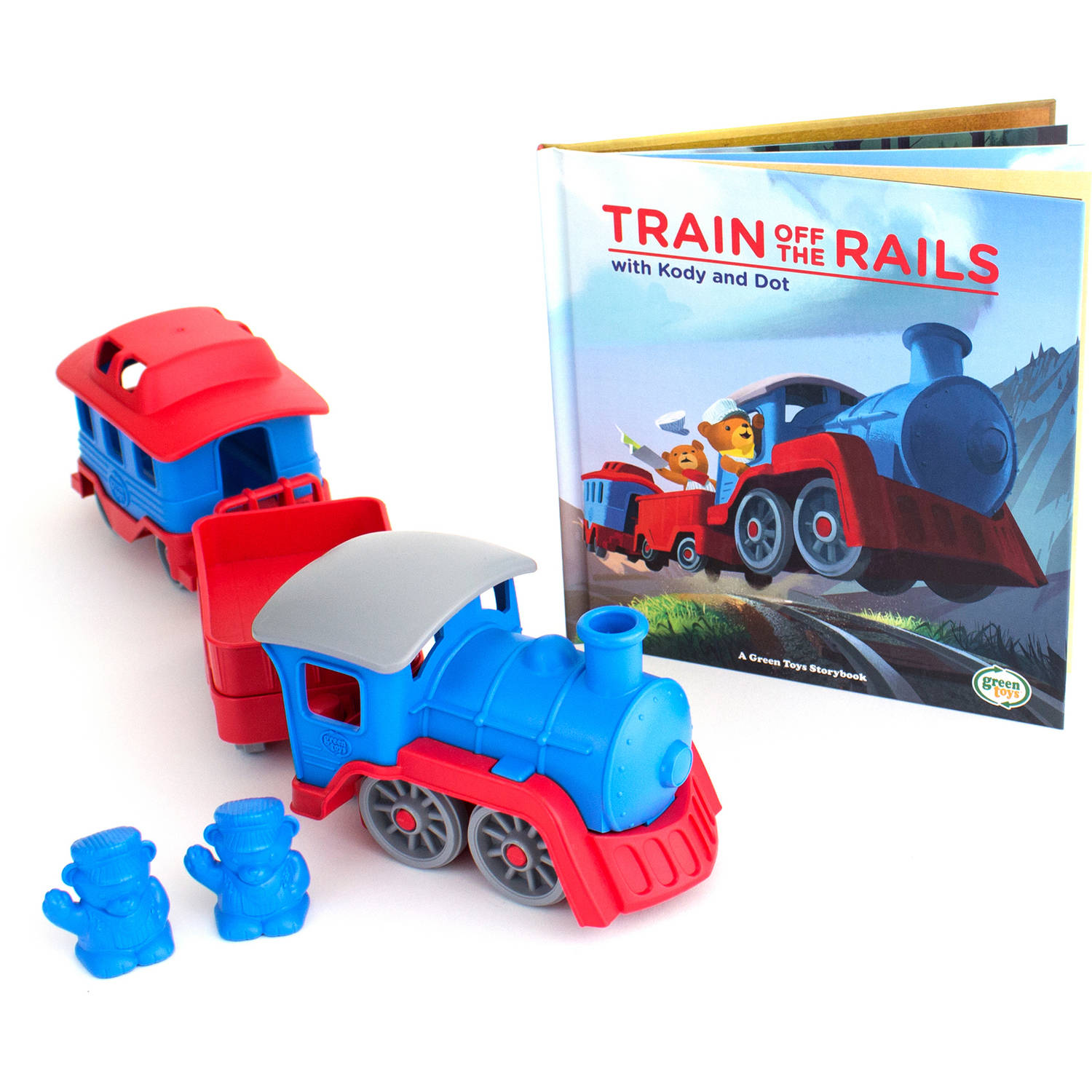 Green Toys Storybook and Train Set by Green Toys