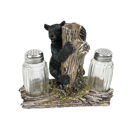 VoojoStore Bear On Tree Salt and Pepper Shakers - Unique Gift For Birthday Christmas Wedding Anniversary Engagement Graduation Couples Men Women Mom Dad Grandpa Sister Wife Husband (Unique Wedding Gifts For Couples In India)