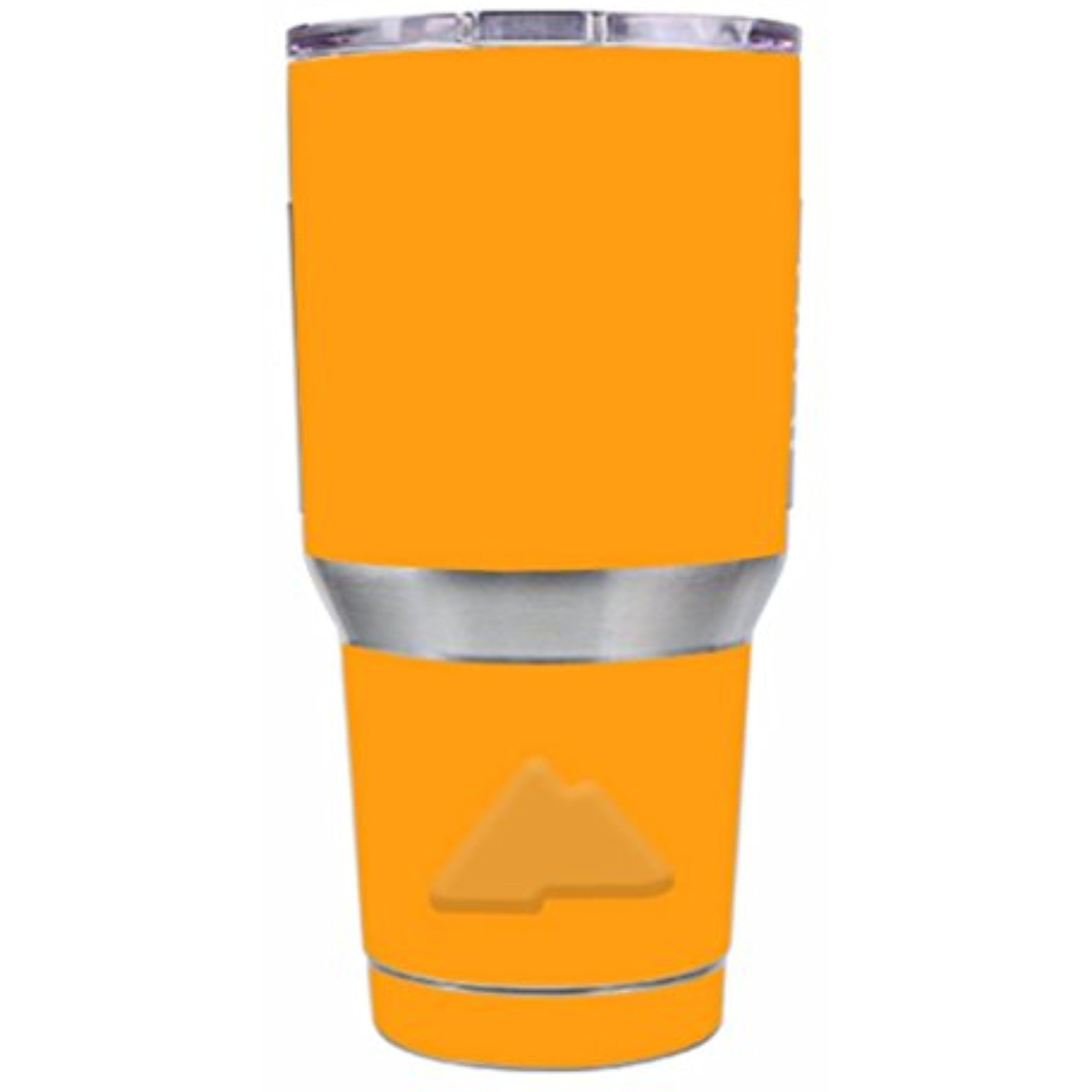 Skin Decal Vinyl Wrap for Ozark Trail 30 oz Tumbler Cup Stickers Skins Cover (6-piece kit) / Solid Orange