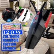 3-in-1 Car Handheld Vacuum Cleaner with LED Light Hand Vacuum Pet Hair Vacuum, Car Vacuum Cleaner Dust Busters for Home and Car Cleaning with 5M Power Cord