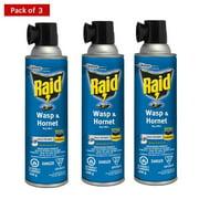 Raid Wasp and Hornet Killer Spray 400g - Pack of 3