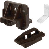 Drawer Track Guide And Glides, 2Pk Prime-Line Closet Hardware R 7321