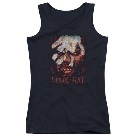 The Lord of The Rings Movie Uruk Hai Juniors Tank Top (Lord Of The Rings Uruk Hai Theme)