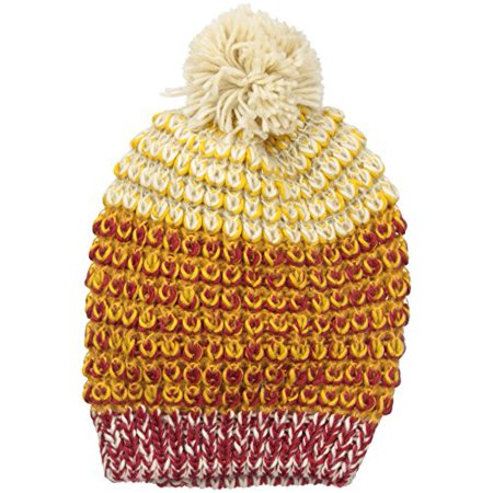 Rampage Women's Multi-Colored Marled Beanie, Rust, One Size ()