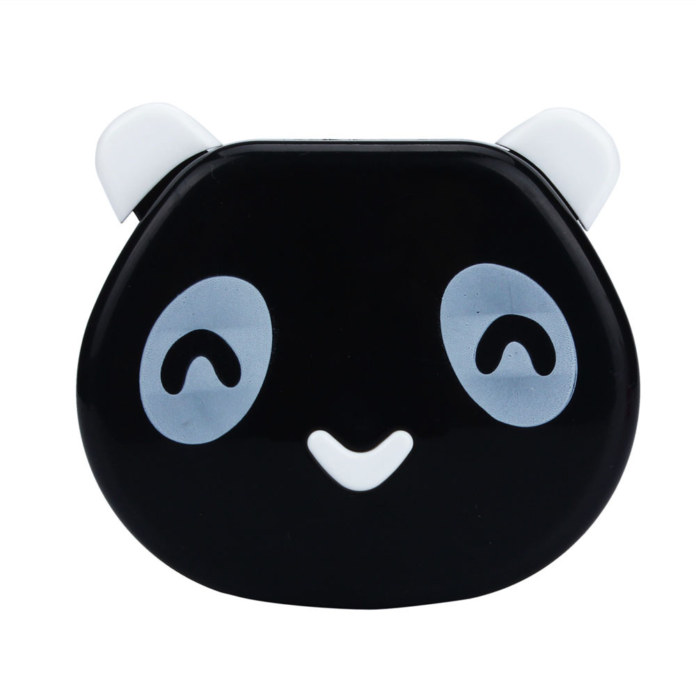Mosunx Cartoon Panda Candy Color Contact Lens Box Case For Eyes Care Kit BK