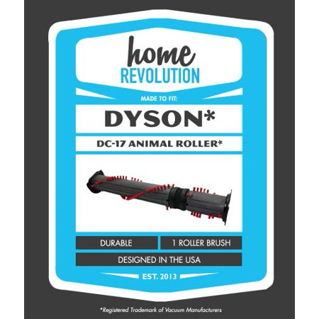 Dyson Asthma And Allergy (Dyson DC17 Home Revolution Brand Roller Brush Replacement; Made To Fit DC-17 Animal, Asthma and Allergy, and Total Clean models; Compare to Dyson Agit)