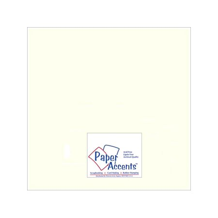 Paper Pearlized 12x12 80# Pearl (12x12 Paper Baseball)