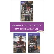 Harlequin Intrigue May 2016 - Box Set 1 of 2 - eBook