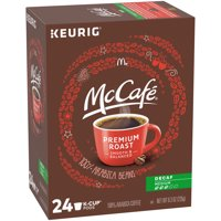 McCafe Premium Roast Decaf Coffee K-Cup Pods, Decaffeinated, 24 ct - 8.3 oz Box
