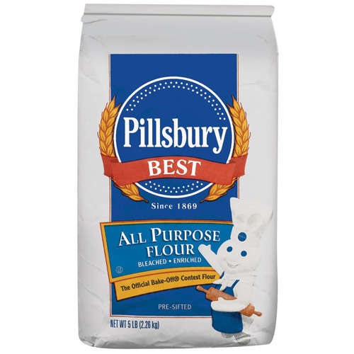 Pillsbury Best All Purpose Bleached Enriched Flour, 5 Lb